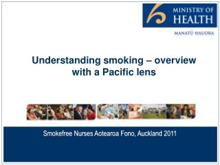 Understanding smoking – overview with a Pacific lens