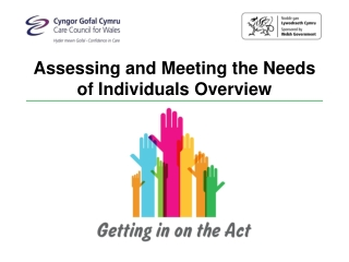 Assessing and Meeting the Needs of Individuals Overview
