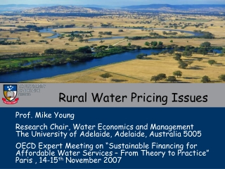 Rural Water Pricing Issues
