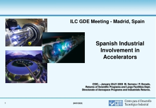 Spanish Industrial Involvement in Accelerators