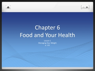 Chapter 6 Food and Your Health