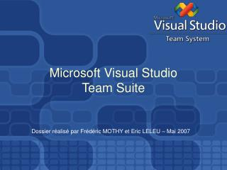 Microsoft Visual Studio Team Suite