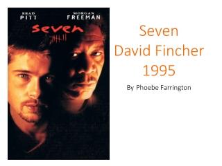 Seven David Fincher 1995