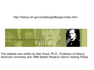 history.nih/exhibits/goldberger/index.html