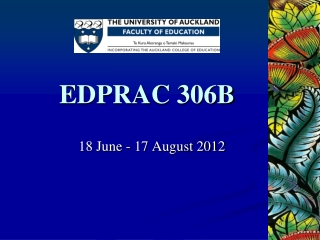 EDPRAC 306B