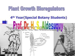 Plant Growth Bioregulators