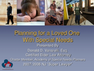 Planning for a Loved One  With Special Needs