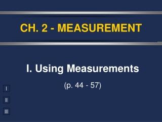 CH. 2 - MEASUREMENT