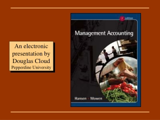 An electronic presentation by Douglas Cloud  Pepperdine University