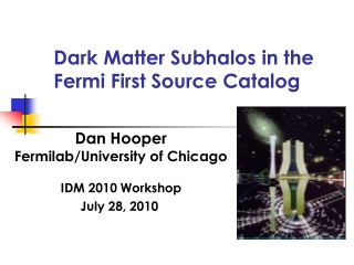 Dark Matter Subhalos in the Fermi First Source Catalog