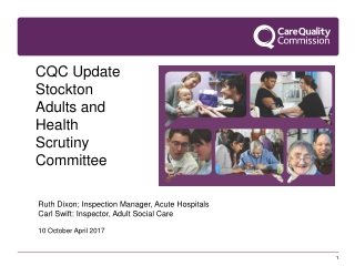 CQC Update  Stockton Adults and Health Scrutiny Committee