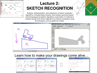 Learn how to make your drawings come alive…