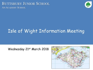 Isle of Wight Information Meeting