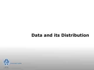 Data and its Distribution