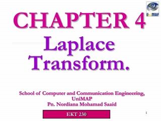 Laplace Transform.