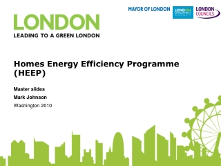 Homes Energy Efficiency Programme (HEEP)