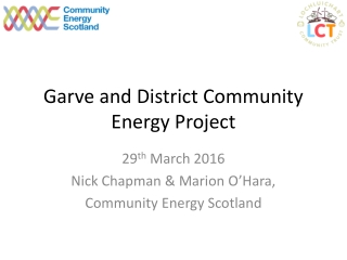 Garve and District Community Energy Project