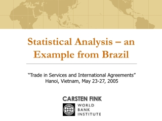 Statistical Analysis – an Example from Brazil