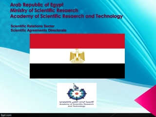 Scientific Relations Sector Scientific Agreements Directorate
