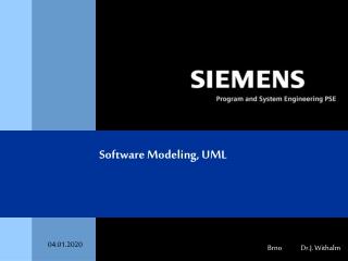 Software Modeling, UML