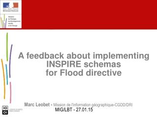 Marc Leobet -  Mission de l'information géographique-CGDD/DRI