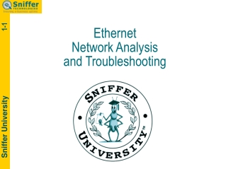 Ethernet Network Analysis  and Troubleshooting