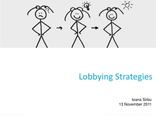 Lobbying  Strategies