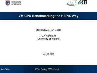 VM CPU Benchmarking the HEPiX Way