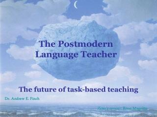 The Postmodern Language Teacher