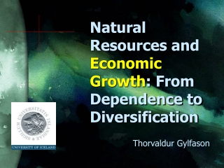 Natural Resources and  Economic Growth : From Dependence to Diversification