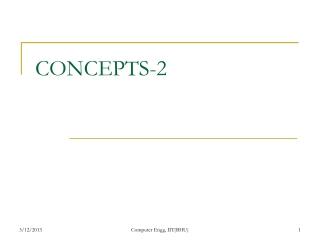 CONCEPTS-2