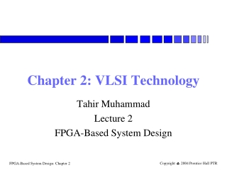 Chapter 2: VLSI Technology