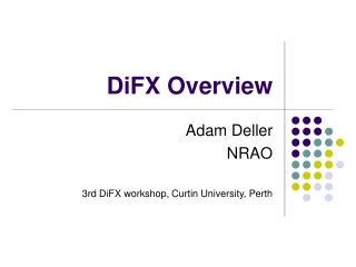 DiFX Overview