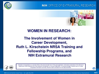 WOMEN IN RESEARCH :