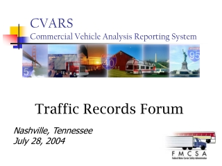 CVARS Commercial Vehicle Analysis Reporting System