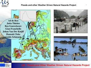 Floods and other Weather Driven Natural Hazards Project