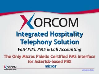 Integrated Hospitality Telephony Solution