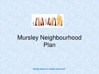 Mursley Neighbourhood Plan