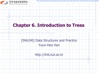 Chapter 6. Introduction to Trees