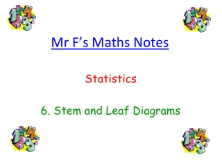 Mr F's Maths Notes
