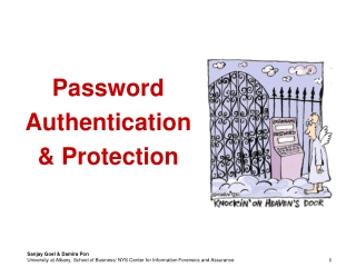 Password Authentication  & Protection