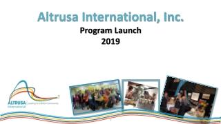Altrusa International, Inc. Program Launch 2019