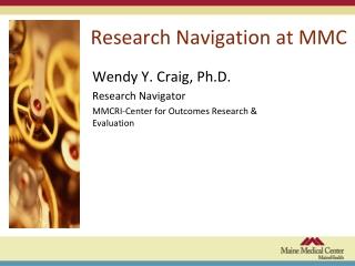 Research Navigation at MMC