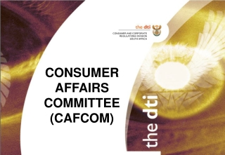 CONSUMER AFFAIRS  COMMITTEE (CAFCOM)
