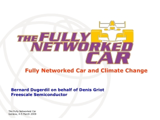 Fully Networked Car and Climate Change