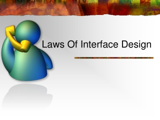 Laws Of Interface Design