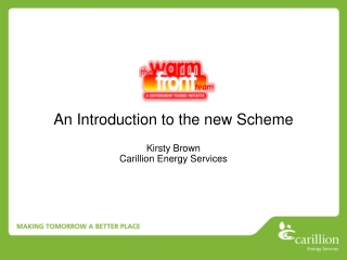 An Introduction to the new Scheme