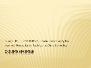 CourseForge