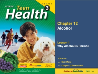 Chapter 12 Alcohol