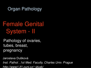 Organ Pathology